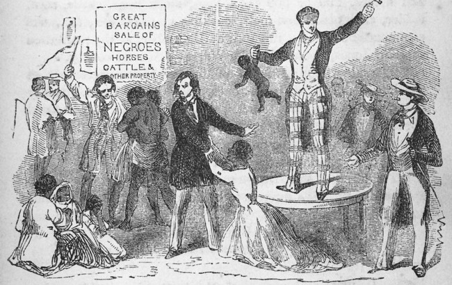 nineteenth-century abolitionist cartoon